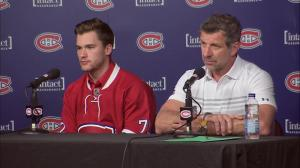 There was discussion to trade for Drouin last summer: Bergevin